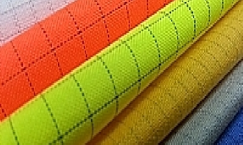 K&K Antiststic ESD Fabrics colors chart